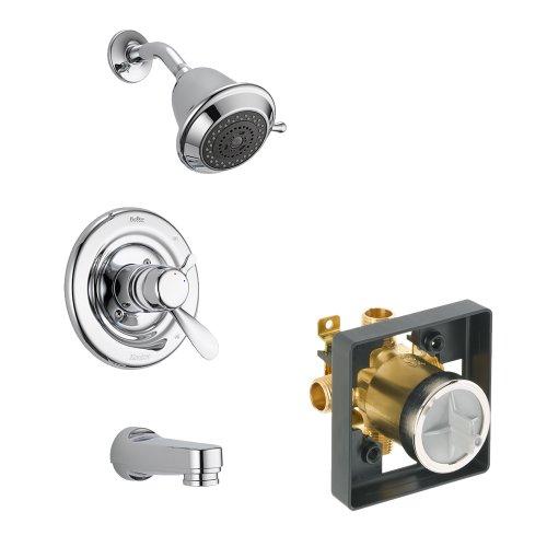 Classic Shower Pressure Balance (Delta Delta KTSDCL-T17430-CH Classic Tub/Shower Kit Pressure-Balance Dual-Function Cartridge, Chrome Chrome)