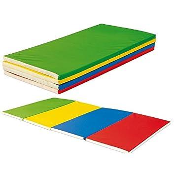 Colchonetas de Colores. 2.4m x 1.2 m x 5 cm. Ideal Colegios ...