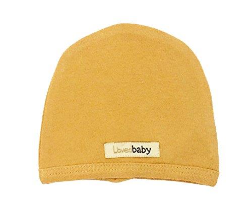lovedbaby-unisex-baby-organic-infant-cap-3-6-months-honey