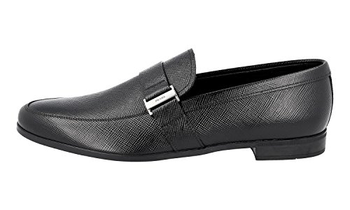 Menns Loafers 2de089 Prada Saffiano Skinn gqTpSw