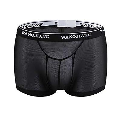 Boxer Briefs Men Underwear Shorts Underpants Pouch Soft Breathable Briefs