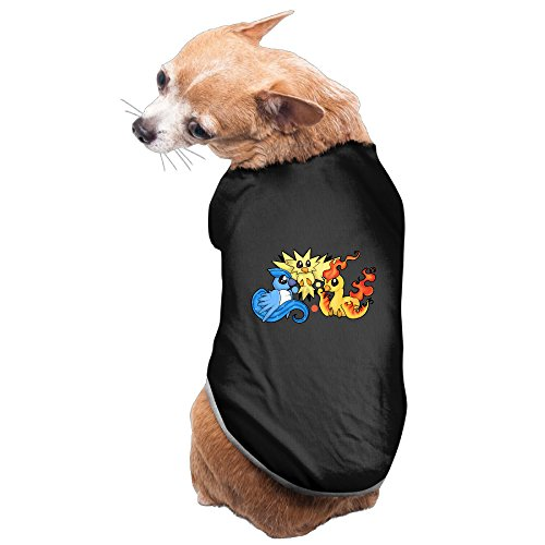 CGH Seven Zapdos And His Friends Pet Dog Cat Costumes TShirt SizeL (Zapdos Costume)