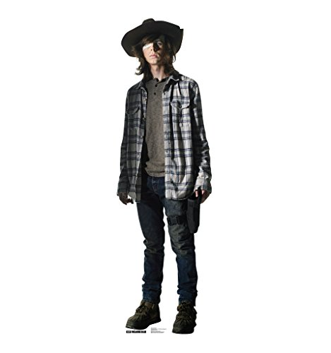 Halloween Character Cutouts (Carl Grimes - AMC's The Walking Dead - Advanced Graphics Life Size Cardboard Standup)