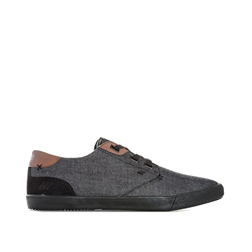 Boxfresh Mens Stern Trainers in Black- Lace Fastening- Ortholite C4wHZD