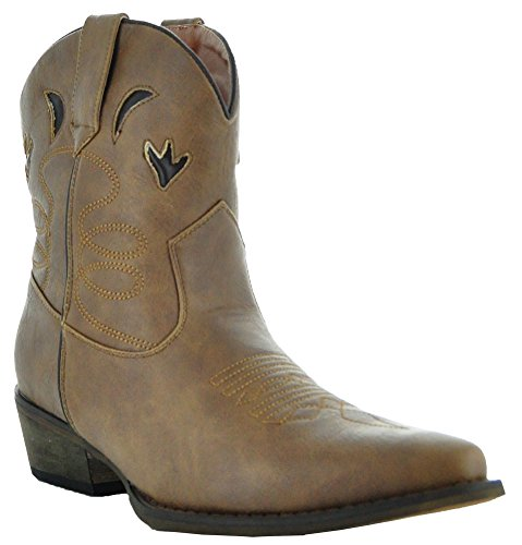 Southwest Short Boots by Country Love Boots ZP-W04 (5.5) (Cheap Cowgirl Boots Under 20)