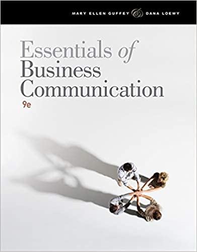 essentials of business communication 10th edition pdf download