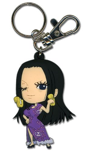 Great Eastern Entertainment One Piece - SD Boa Hancock PVC Keychain