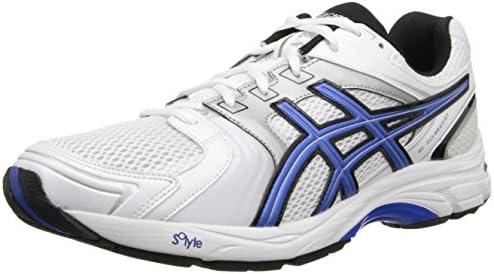 ASICS Men's Gel-Tech Walker Neo 4 Walking Shoe, White/Royal/Black ...