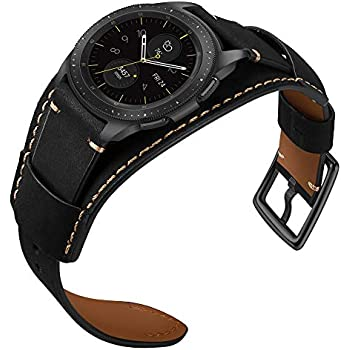 Amazon.com: Genuine Leather Cuff Watch Band,repalcement ...