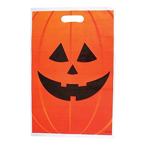 Slap The Bag Halloween Costume (Jack O Lantern Large Halloween Trick Or Treat Bags (Bulk Pack of 50) 11