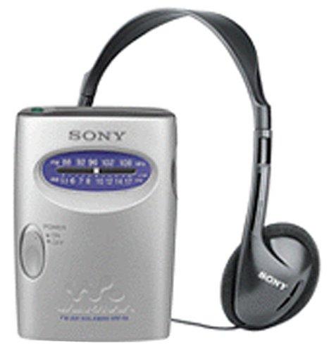 Sony SRF59SILVER AM/FM Walkman Stereo Radio