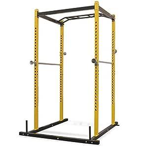 vidaXL Jaula de Ejercicios de Musculación 140x145x214cm Acero ...