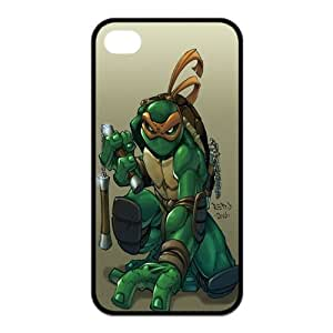 Teenage Mutant Ninja Turtles iPhone 4/4s Case for iphone 4/4s Cover Cartoon TMNT Fits Case by runtopwell