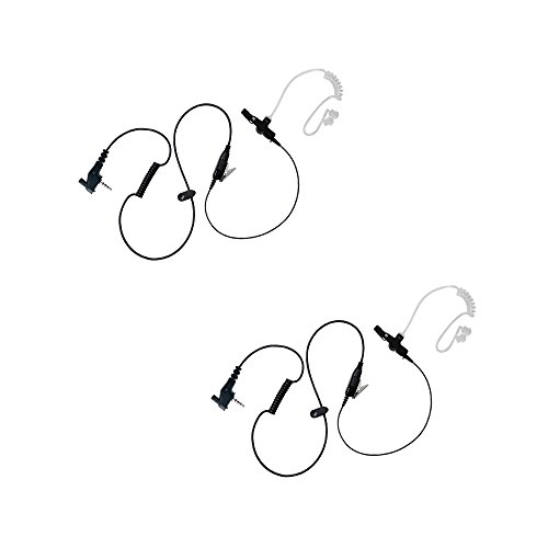 2 Pack BOMMEOW BCT12-Y7 Walkie Talkie 1-WIre Covert for sale  Delivered anywhere in USA
