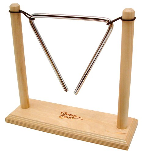 Basic Beat Wooden Stand for 5'' or 6'' Triangle by Basic Beat (Image #2)