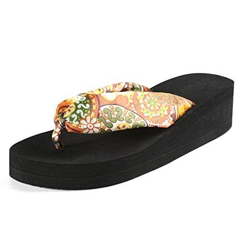 Black Été Flops Femmes Havaianas Flip Sandales Respirant Tongs 1qOZx0zx