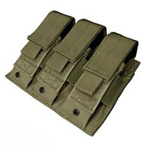 Condor MA52 Triple Pistol Mag Pouch (OD) ()