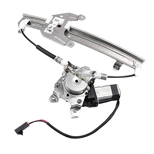 OCPTY Power Window Regulator with Motor Assembly Replacement Rear Right Passengers Side Window Regulator fit for 1995-1999 Nissan Maxima(to 3/1999) 1996-1999 Infiniti I30 82720-40U10 741-778