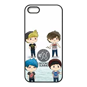 AMAF ? Accessories Custom Design 6 plus Seconds of Summer 6 plusos TPU Protective Snap On Case Cover For iphone 6 plus [ 6 plus sos ]