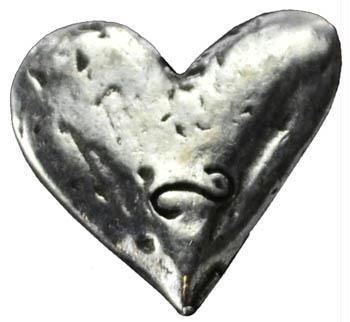 AzureGreen A4502H Heart Pocket Stone