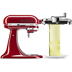 KitchenAid KSMSCA Vegetable Sheet Cutter, 1, Metallic