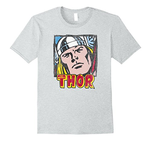 Marvel+Comics+Retro+Shirt Products : Marvel Thor Classic Retro Comic Stamp Graphic T-Shirt