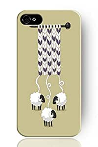 SPRAWL Concise Style ULTRA SLIM Hard Cover Phone Case for Apple iPhone 6 (5.5) -- Sheep Knitting a Sweater by lolosakes by lolosakes