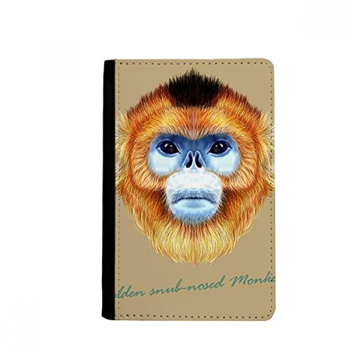 nkey Animal Passpord Holder Travel Wallet Cover Case Card Purse Gifts ()