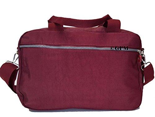 GFM tela de nailon con 3 compartimento bolsa para herramientas de Style 2 - Dark Purple (658GHJMN)