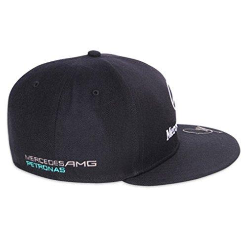 Genuine mercedes benz amg petronas lewis hamilton puma for Mercedes benz caps hats
