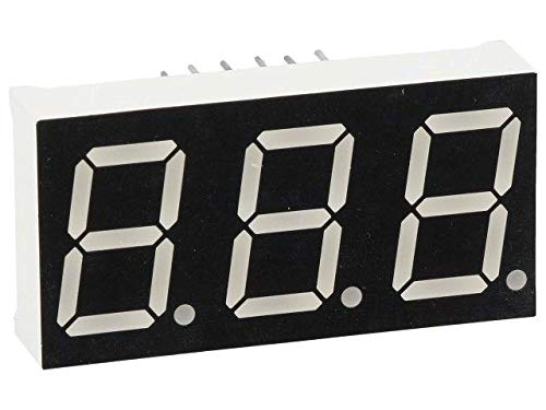 OPD-T5621UPG-BW Display LED 7-Segment 14.2mm Green 160mcd Cathode