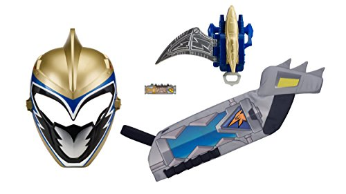 Power Rangers Dino Charge Gold Ranger Mask (Power Rangers Dino Super Charge - Ranger Hero Set, Gold)