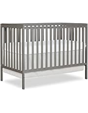 Dream On Me Synergy 5 in 1 Convertible Crib, Natural