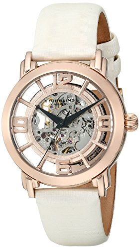 Automatic Rose 16k - Stuhrling Original Women's 156.124W14 Winchester Automatic Skeleton Rose Watch