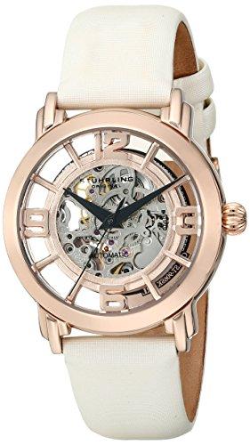 16k Automatic Rose - Stuhrling Original Women's 156.124W14 Winchester Automatic Skeleton Rose Watch