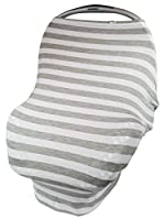VitKo Baby - Baby Car Seat Cover - Grocery Cart & High Chair Cover for Infant Boys and Girls - Nursing Breastfeeding Privacy CoverUp - Protect From Summer Sun and Bug Exposure - Stylish Infinity Scarf