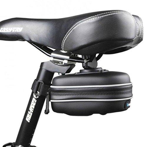 Clode®Mountainbike Fahrrad Satteltasche Sattel und Gepäckträgertasche