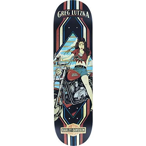 Darkstar Skateboards Greg Lutzka Harley Davidson Skateboard Deck - 8.12