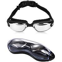 sgrice Swimming Goggles, Swim Goggles No Leaking UV...