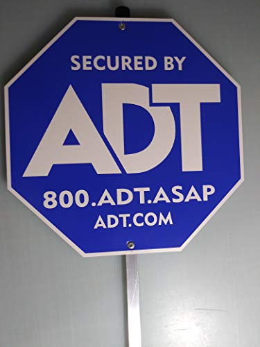 Security Yard Signs Aluminum Post product image