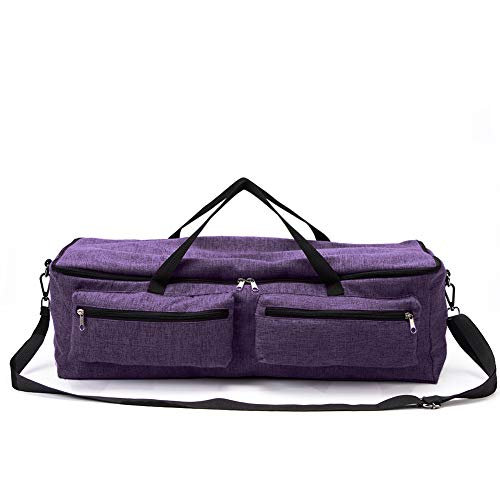 (Cricuit Storage Bag,Carrying Case Compatible with Cricuit Explore Air and Maker,Cricuit Tool Kit Tote Bag,Sewing Machine Specific Bag,Cricut Maker,Silhouette Cameo Travel Companion (Purple) )
