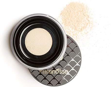 Mirenesse Studio Magic BB Perfect Face Glow Setting Powder, Translucent Finishing Powder, Creates Natural Glow, Airbrush Flawless Finish, Organic Vitamin E, Vegan & Toxin Free, 0.28oz