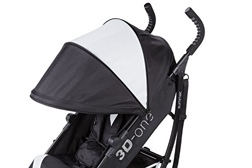 Summer Infant 3D-one Convenience Stroller, Eclipse Gray by Summer Infant (Image #6)
