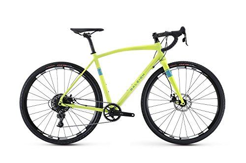 Raleigh Bikes Willard 3 Adventure Road Bike 52cm Frame, Green, 52cm/Small