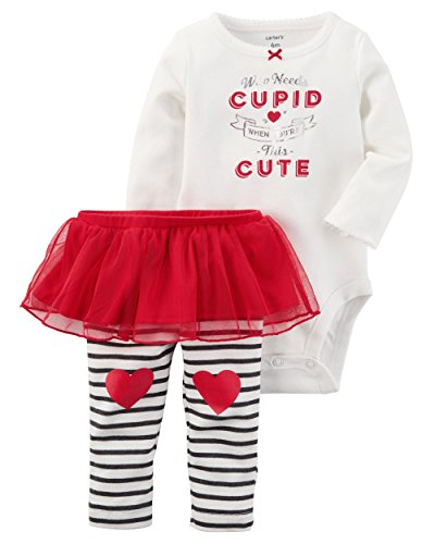 Carter's 2 Piece Bodysuit and Tutu Pants Set 18 Months