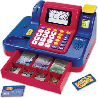 Learning Resources Canadian Version Teaching Cash Register from Learning Resources