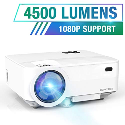 🥇 HOPVISION Mini Proyector 1080P Full HD
