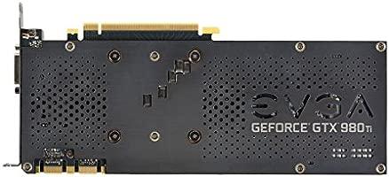 EVGA GTX 980 Ti FTW ACX 2.0 + 6 GB Tarjeta gráfica: Amazon ...
