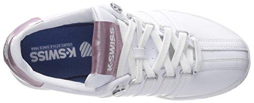 K-Swiss Classic VN - Zapatillas unisex, color blanco