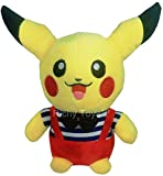Richy Toys Pikachu Pokemon Soft Toy kids birthday Gift Stuffed Soft Plush Toy Love 22 cm(Any one color)